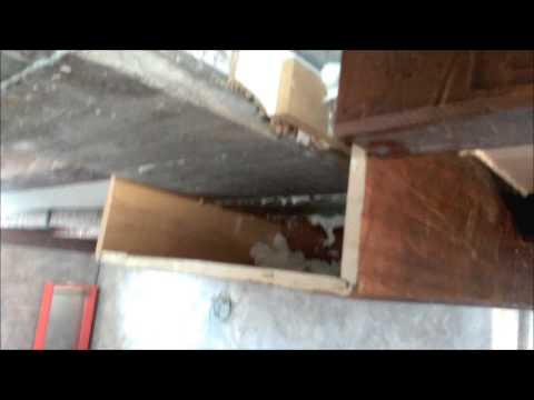 Ejemplo practico montaje vigas huecas de madera youtube - Vigas de madera ...