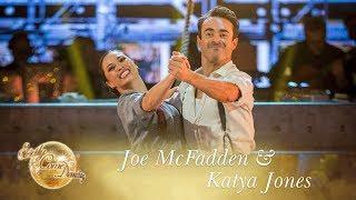 Joe & Katya Quickstep to 'Jumpin' Jack' by Big Bad Voodoo Daddy  - Strictly Come Dancing 2017