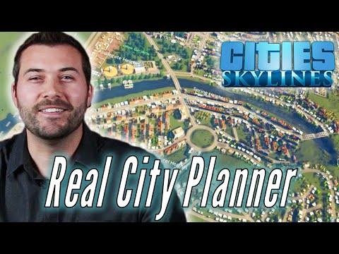 A Professional City Planner Builds His Ideal City in Cities Skylines • Pro Play
