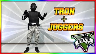 *TRON + JOGGERS + PARAMEDIC BELT MERGE GLITCH*.. EASY.. SOLO..CREATOR OUTFIT TRANSFER WORKAROUND