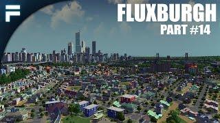 "Cities Skylines - Fluxburgh [PART 14] ""Regional Bus Terminal"""