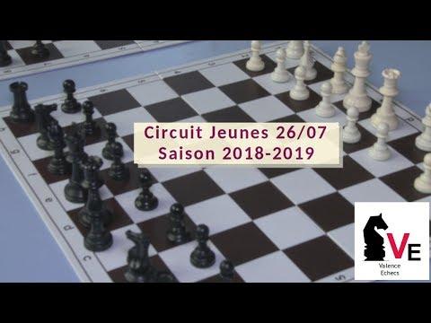 Actu'Sport   Valence Echecs, circuit Jeune   Décembre 2018