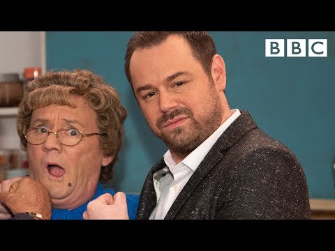 Danny Dyer teaches Mrs Brown cockney rhyming slang - BBC