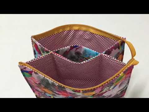 Coudre Une Trousse De Toilette Double Tuto Couture Madalena Youtube