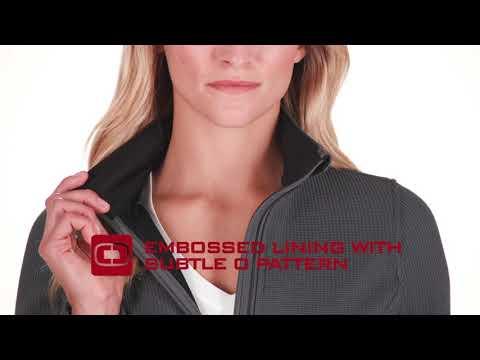 a6371a239 Ogio LOG727 Ladies Grit Fleece Jacket