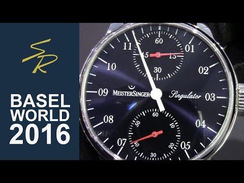 Meistersinger Singulator Limited Edition 50pz Baselworld 2016