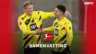 Wonderduo Haaland en Sancho tegen Gladbach ✨ | Borussia Mönchengladbach - Borussia Dortmund