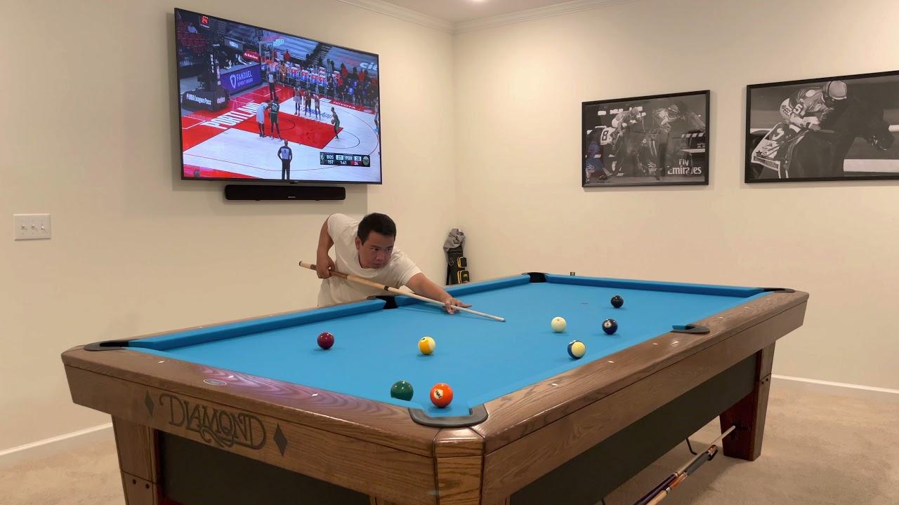 Diamond 9' Pro-Am Pool Table – #RO128