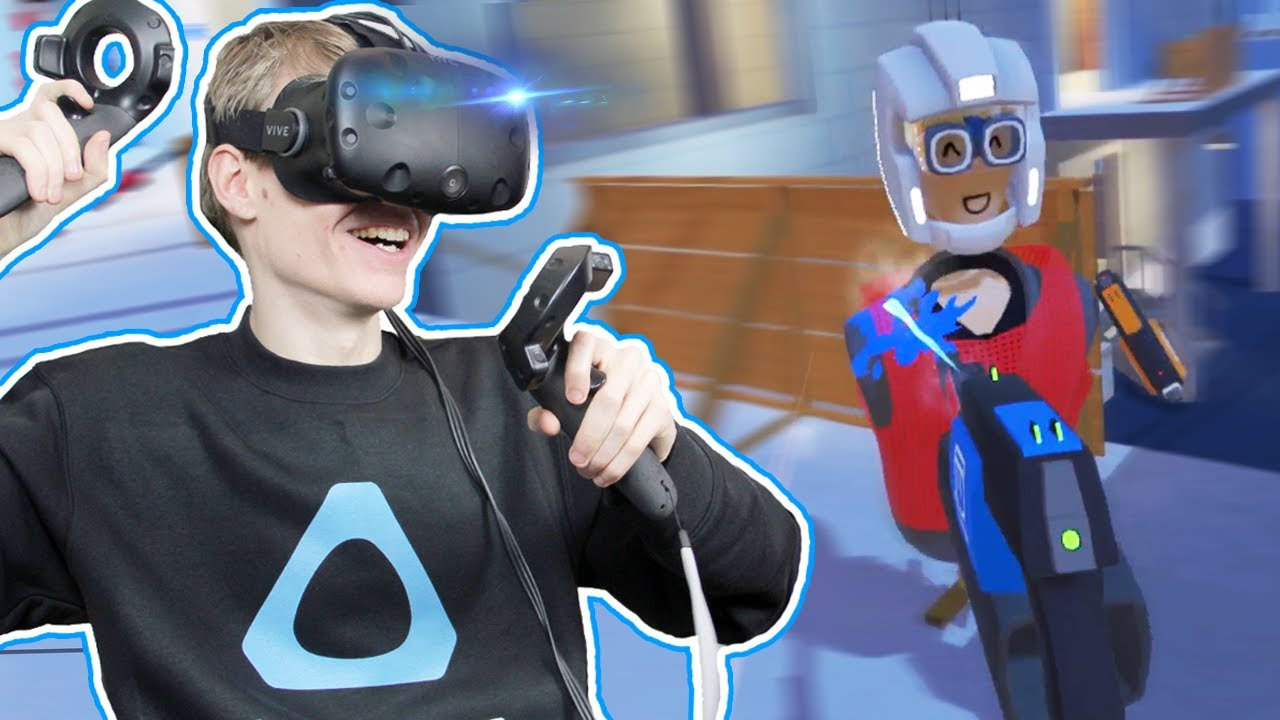 VIRTUAL REALITY PAINTBALL WITH FANS! | Rec Room VR (HTC Vive Gameplay)