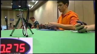 Чемпионат Мира по сборке Кубика Рубика - Финал(Наверное, когда-нибудь соревнования по сборке Кубика Рубика будут транслироваться по телевизору, как и..., 2013-08-18T15:03:05.000Z)
