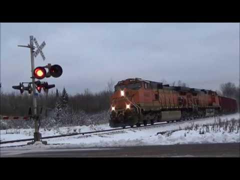 Railfanning the Twin Ports & Iron Range area part 1 10-27-17 & 10-28-17
