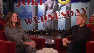 Ellen And Julia Roberts Scare Julia Louis