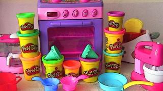 Урок английского для малышей. Кухня. Play-Doh помогает. Развивающее видео.