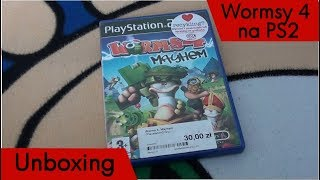 Unboxing (PL) - Worms 4 Mayhem (2005 - PS2)