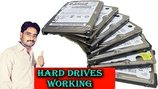 Hard Disk Drives Working Detail Explained in [Hindi/Urdu]