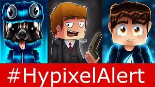Hypixel YT Perm Banned! #HypixelAlert LandonMC & JustVurb Hacked - Skywars Update - Madmaker7