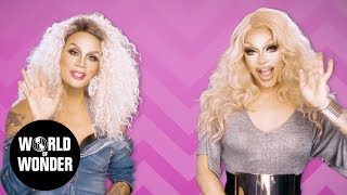 "FASHION PHOTO RUVIEW: Raja & Raven on RuPaul's Drag Race Season 9 Episode 11 ""Gayest Ball Ever"""