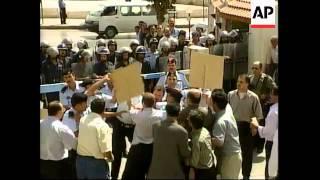 JORDAN: PROTESTS AGAINST UNEMPLOYMENT