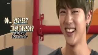 [VOSTFR]  BTS YAMAN TV PART 10 Jin est un acteur