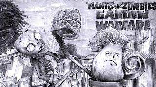 Repeat youtube video drawing Plants Vs Zombies   Garden Warfare