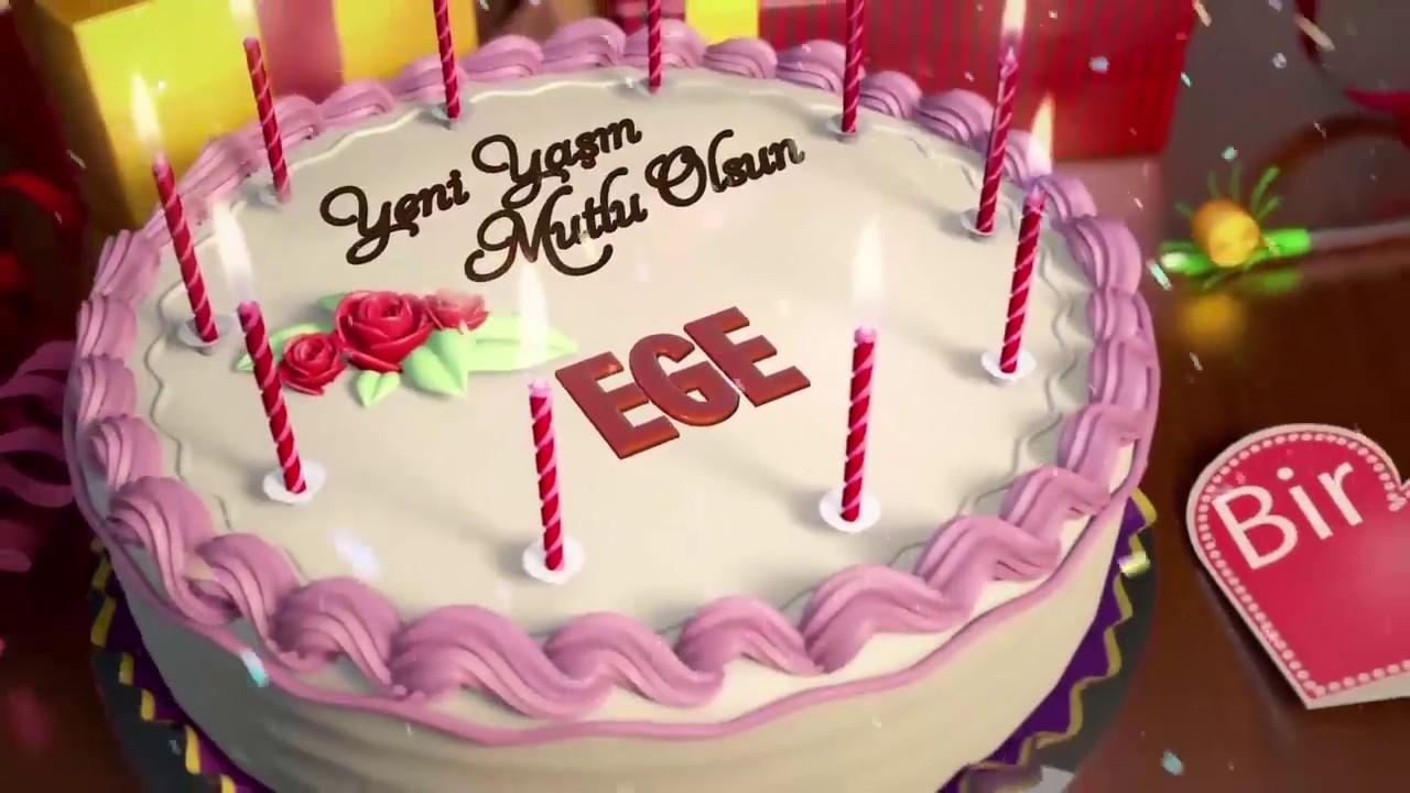 İyi ki doğdun EGE - İsme Özel Doğum Günü Şarkısı