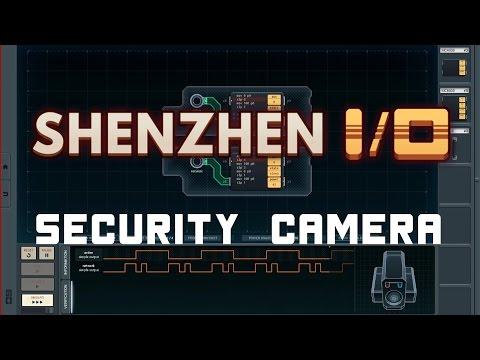 SHENZHEN I/O - Fake Security Camera - Solution