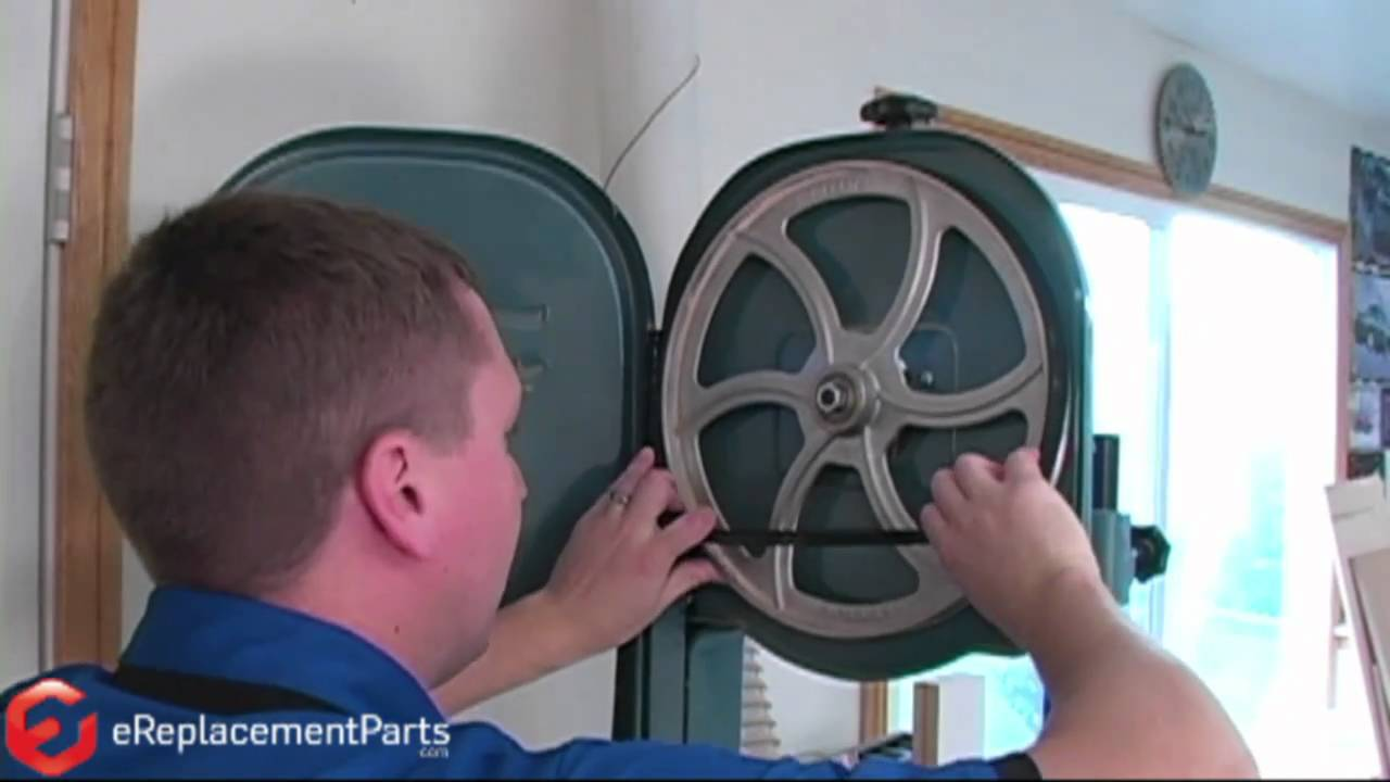 How to install a bandsaw tire youtube how to install a bandsaw tire greentooth Gallery