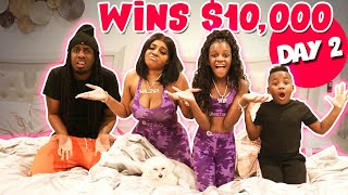 Last to Leave the Bed Wins $10,000 Challenge!!
