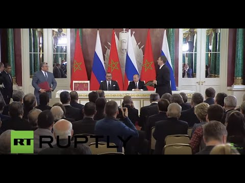 Russia: Putin and Morocco's King Mohammed VI strengthen bilateral ties