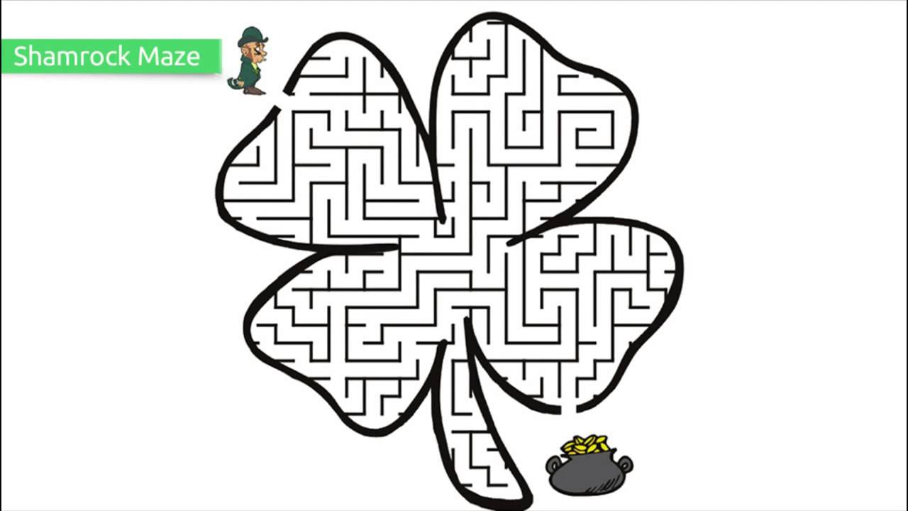 Top 10 Free Printable St. Patrick\'s Day Coloring Pages - YouTube
