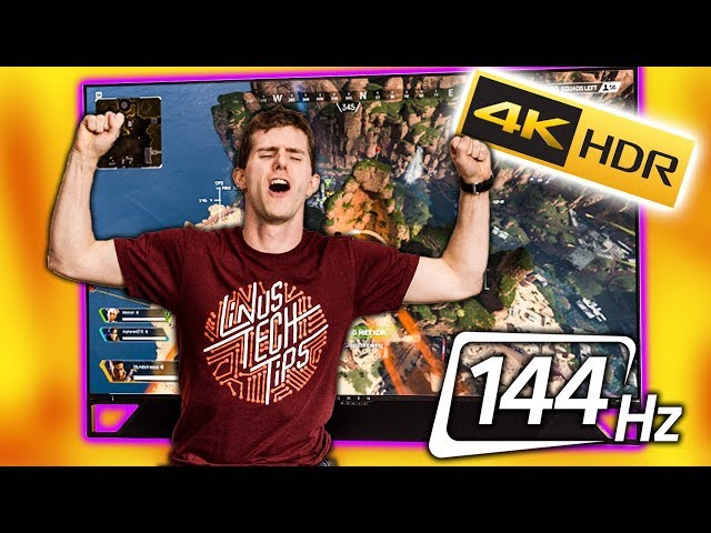 Im in GAMER Heaven - HP EmperiumX 65 Gaming TV Review