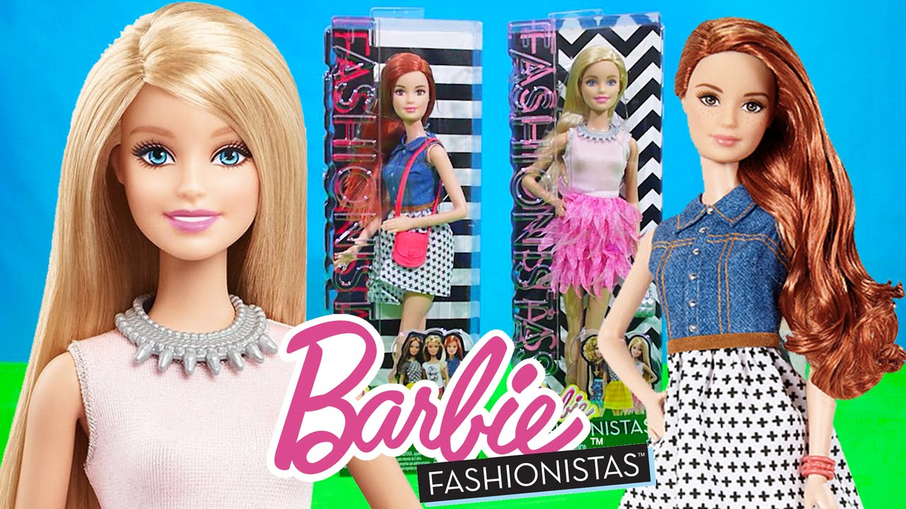 Barbie Dolls videos for Kids Fashionistas Collection 2015 ...