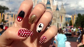 Mickey Mouse Nail Tutorial!