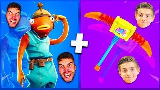 🔥 6 COMBOS OF SKIN TEAM CROÛTON (Michou, LeBouseuh..) ON FORTNITE!
