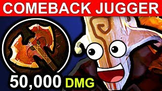 COMEBACK JUGGERNAUT DOTA 2 PATCH 7.06 NEW META PRO GAMEPLAY