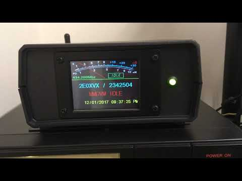 New Nextion screen design for the MMDVM - Full download