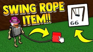 *NEW* ROPE SWING ITEM!! | Build a boat for Treasure ROBLOX (huge leaks)
