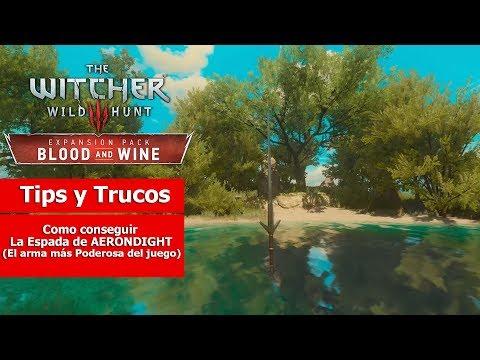 The Witcher III: Wild Hunt   Tips y Trucos   Como conseguir la Espada de AERONDIGHT
