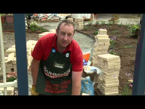 How To Pave A Pathway - DIY At Bunnings