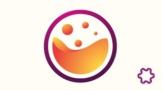 Quick Tutorial : 3d logo design tutorial for beginners / adobe illustrator / circle logo design