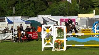 Hugh Davies and Tim Stockdale at Bolesworth Castle Mini Major Showjumping competition 2011.