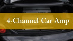 Best 4 Channel Car Amplifiers - Decent Review!