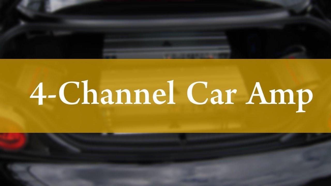 Best 4 Channel Car Amplifiers - Decent Review!