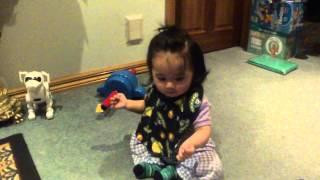 Cute Girl Gangnam Style