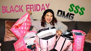 MASSIVE VICTORIA'S SECRET/PINK BLACK FRIDAY HAUL!