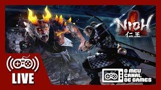 [Live] Nioh (PS4 Pro) - Coop c/ VICTOR KRATOS AO VIVO (Aquecimento NIOH 2)