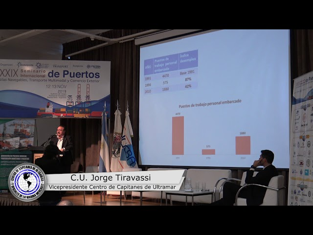 XXIX SEMINARIO INTERNACIONAL DE PUERTOS, VÍAS NAVEGABLES, TRANSPORTE MULTIMODAL Y COMERCIO EXTERIOR
