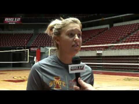 Iowa State Volleyball Coach Christy Johnson