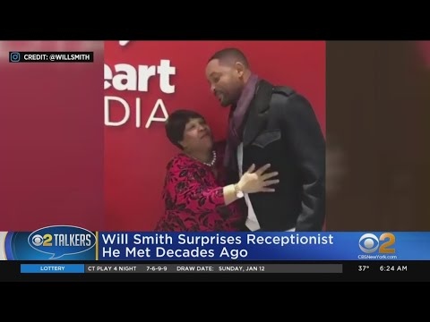 Coe Lewis - Will Smith Surprises iHeartRadio Receptionist Before Retirement
