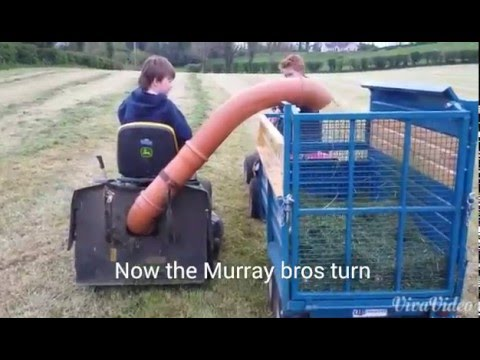 Murray bros starting the silage making